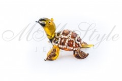 Turtle 6x3.5cm with crystals Swarovski 1