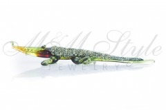 Crocodile 10cm with crystals Swarovski 1