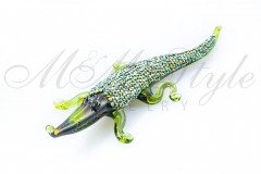 Crocodile 10cm with crystals Swarovski 2