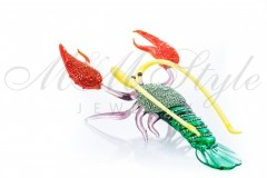 Lobster 14х9х4cm with crystals Swarovski 1