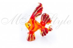 Fish 4x7cm with crystals Swarovski 1