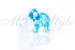 Elephant 4x7cm with crystals Swarovski 1