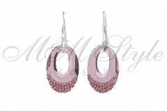 Earrings Helios 30mm Antique Pink 1