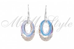 Earrings Helios 30mm Crystal AB 1