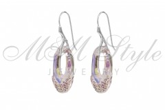 Earrings Helios 30mm Crystal AB 2