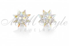 Earrings Lily 19mm - Crystal AB
