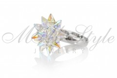 Ring Lily 19mm - Crystal AB 2