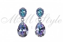 Earrings pear cut 16mm - Vitral Light 1