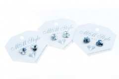Earrings triple xilion - Crystal Ignite 2