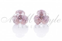 Earrings triple xilion - Rose Ignite 1