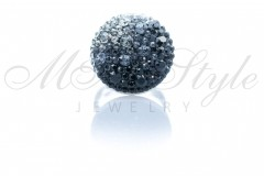 Ring 18mm - Mix Jet, Silver Night and Black Diamond 1
