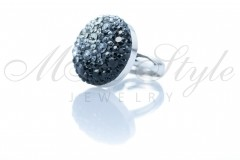 Ring 18mm - Mix Jet, Silver Night and Black Diamond 2