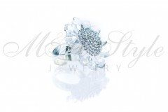 Ring daisy - Crystal 2