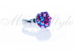 Ring 10mm - Mix Fuchsia Shimmer